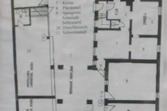 Lageplan des Erdgeschoss