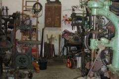 Gerätschaften einer Werkstatt