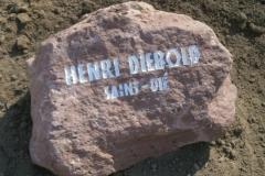 Gedenkstein Diebold