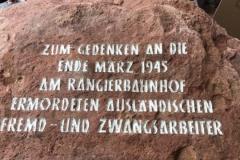 Gedenkstein Text