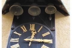 Uhr von Aussen